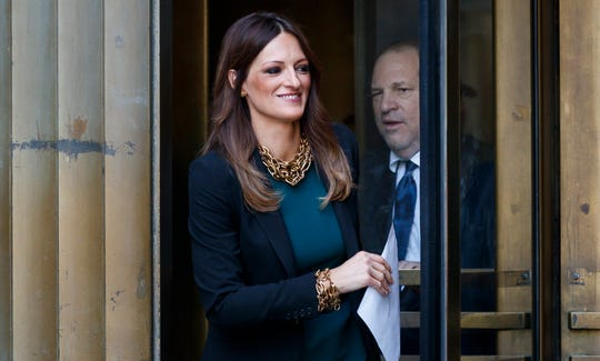 Donna Rotunno, defense lawyer for Harvey Weinstein, leaves court following a pretrial hearing in New York, July 11, 2019.