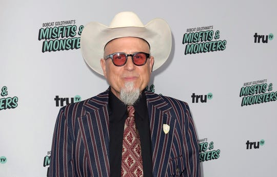 "Bobcat Goldthwait arrives at the LA Premiere of ""Bobcat Goldthwait's Misfits and Monsters"" at The Hollywood Roosevelt in Los Angeles on July 11, 2018."