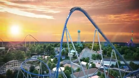Kings Island's newest roller coaster, Orion, will be one of only seven so-called Giga coasters in the world.