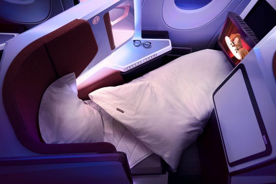 Upper Class seating on Virgin Atlantic's A350 will offer fold-out seats, making it easier to catch some shuteye on its JFK-Heathrow route.