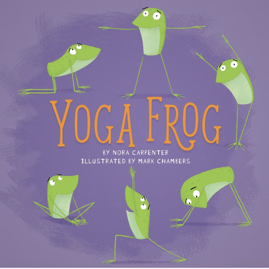"""Yoga Frog"" by Nora Carptenter"