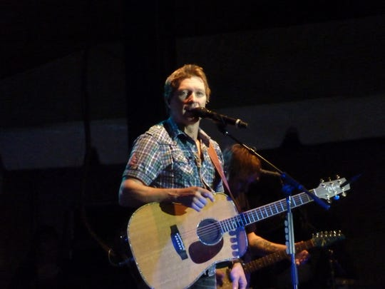Besides his touring regimen, Craig Morgan plays frequent shows at U.S. military bases and does about 10 shows a year at the Grand Ole Opry.