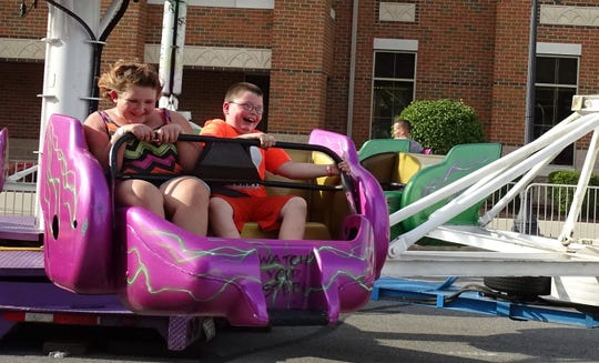 Friday was a busy day at the Bucyrus Bratwurst Festival.