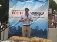Moulton on Soapbox: 'I'm an underdog in this one'