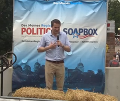 2019 Iowa State Fair Register Political Soapbox videos