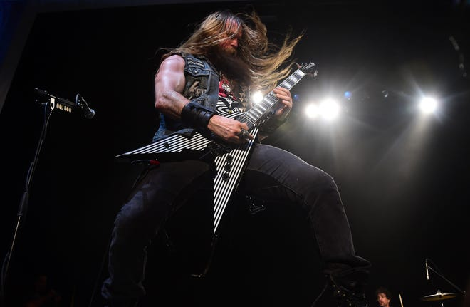 Zakk Wylde performs May 12, 2016, in Los Angeles.