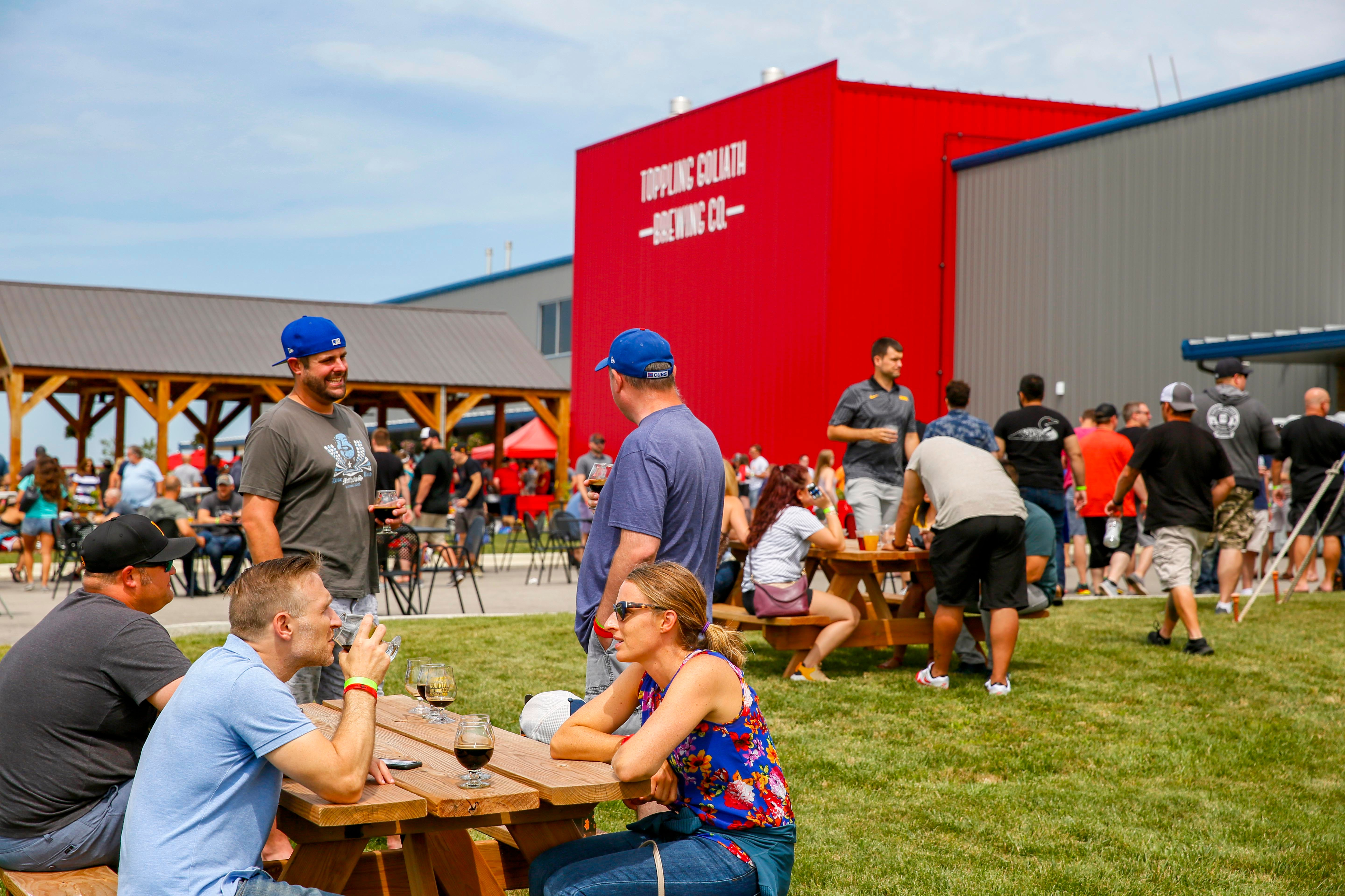 'Beercation': Thousands descend on Toppling Goliath in Decorah for beer release