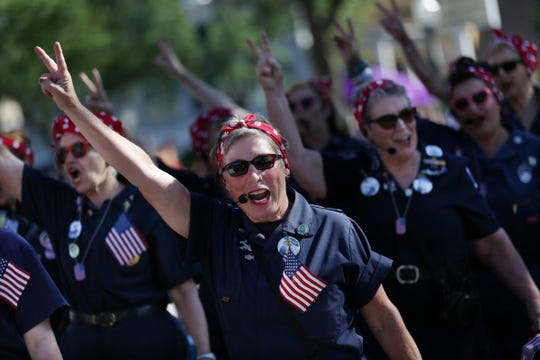 The Willow Run Rosies will join the Ypsilanti Heritage Festival.