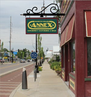 The new North Main Annex Gourmet Catering and Deli will keep the same color scheme, logo and historic touches that the Annex building has had for decades.