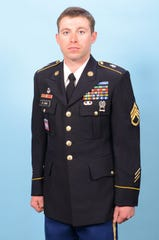 Staff Sgt. Andrew Michael St. John, 29, of Greenwood, Indiana served as an infantryman with Company B, 1st Battalion, 151st Infantry Regiment, Indiana Army National Guard.
