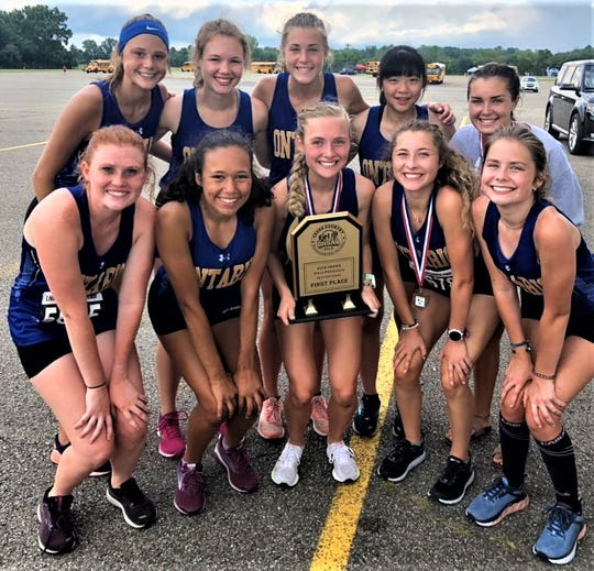 The Ontario girls cross country team won the Division II 2019 OHSAA Early Season Invite on Saturday morning.