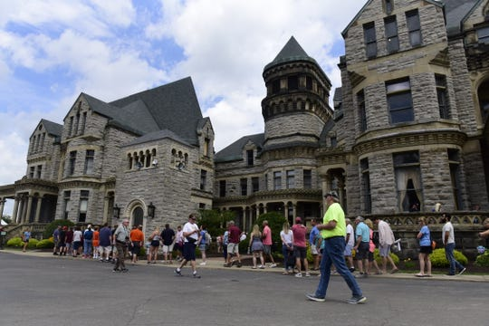 Thousands of visitors traveled the Shawshank trail during the movie's 25th anniversary.