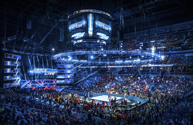 WWE and Fox Sports celebrate SmackDown's 20th anniversary on Oct. 4