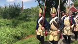 The Bergen County Historical Society and the Brigade of the American Revolution commemorate the 240th Anniversary of the Raid on Paulus Hook at New Bridge Landing.