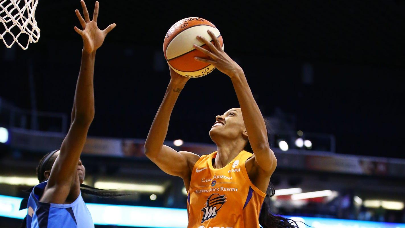 DeWanna Bonner's huge double-double lifts Mercury to victory over Atlanta