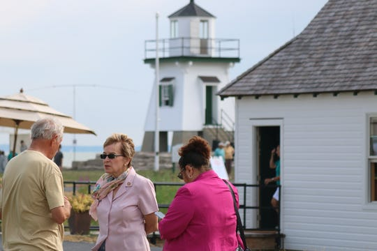 According U.S. Rep. Marcy Kaptur, D-Toledo, the Port Clinton Lighthouse & Maritime Festival was simply the place on Saturday.