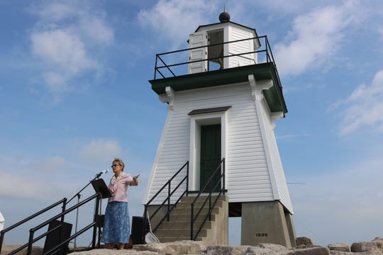 The Port Clinton Lighthouse Conservancy hosted its third annual and thus far most successful festival last August, celebrating the lighthouse and local maritime history. The festival included a presentation by U.S. Rep. Marcy Kaptur, D-Toledo.