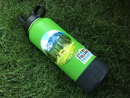 A Hydroflask water bottle saves you from using disposable water bottles. Bring several 5 gallon water jugs as storage and use your bottle as your day supply.