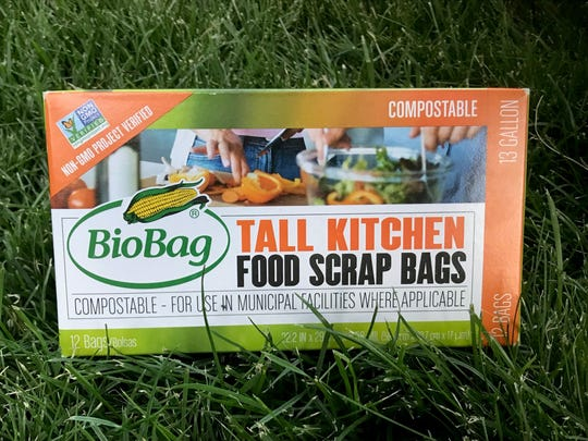 Use compostable garbage bags for the trash waste that you do produce.