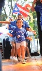 Una foto de los Diversity Dancers en el 50º Festival Puertorriqueño. (JACK HALEY)