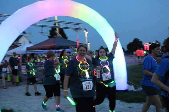 NAMI will give away loads of glow-in-the-dark items such as necklaces and bracelets during the Neon Night Run/Walk.