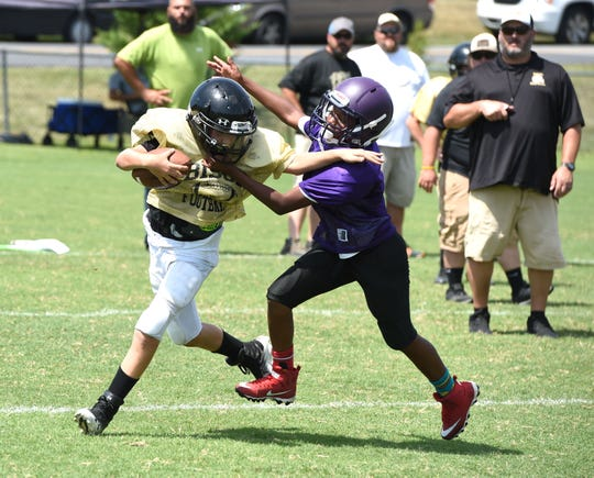 The Augusta County Quarterback Club held its annual preseason jamboree at Wilson Memorial High School Saturday, August 17.