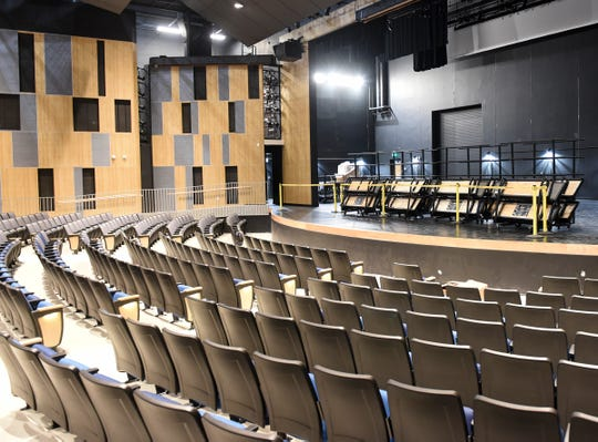The theatre has undergone a big transition within the last few months Thursday, Aug. 15, 2019, at Sartell High School.