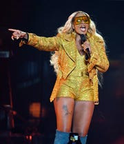 Recording artist Mary J. Blige performs at The Joint inside the Hard Rock Hotel & Casino on Aug. 16, 2019 in Las Vegas, Nevada.