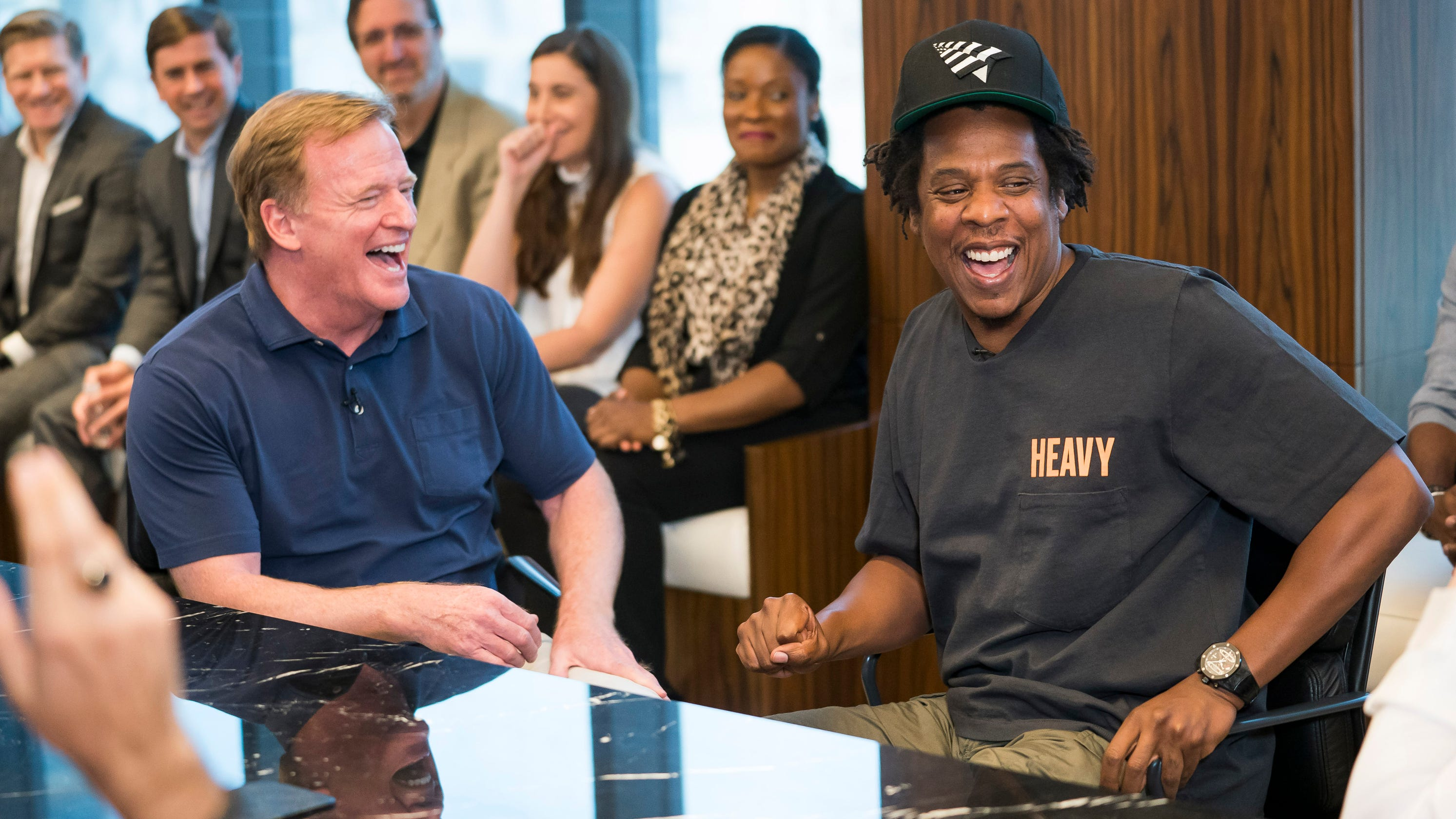 Non-profit group backed by NFL, Roc Nation questioned over dreadlock cutting