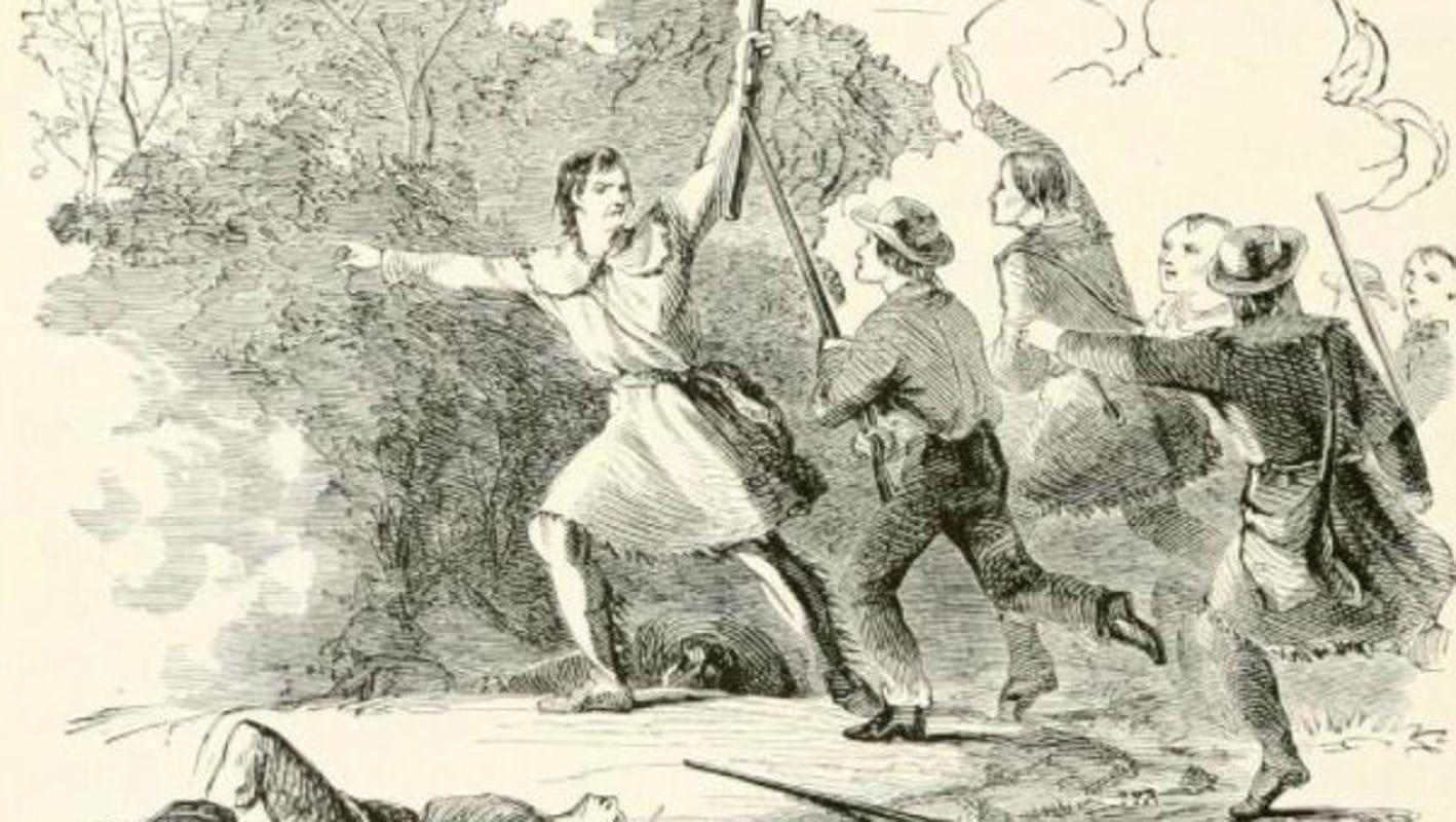 Today in History, August 19, 1782: Daniel Boone and Kentucky militia defeated at Blue Licks