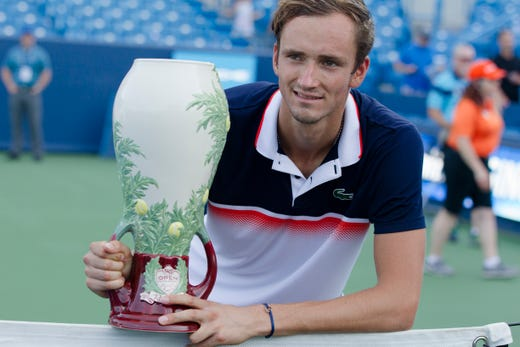 Russian Daniil Medvedev beats David Goffin for the Western & Southern Open title