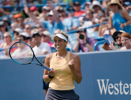 American Madison Keys wins her first career Western & Southern Open title
