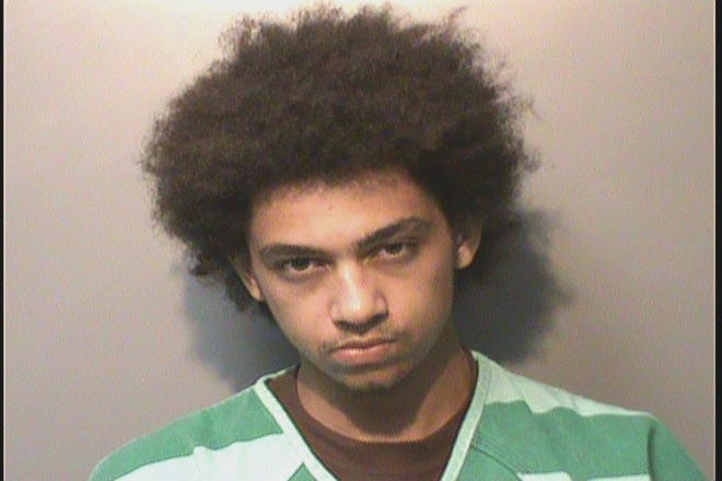 Arron Logan, 21, of Urbandale, is charged with child endangerment after he attempted to run over a woman while she carried their child.