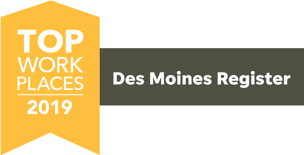 Des Moines Top Workplaces 2019 Logo