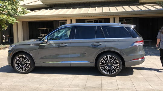 The 2020 Lincoln Aviator SUV goes on sale summer 2019.