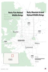 A handful of sites where the United States manufactured and tested weapons are now havens for wildlife.