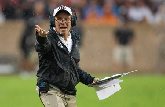 Texas A&M and Jimbo Fisher faces four of the top eight teams from the season-ending AP poll. The Aggies play three of those games on the road, including visits to Georgia and LSU the last two weeks of the season.