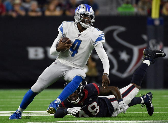 NFL teams are likely to only play reserves like Lions' Josh Johnson rather than risk injury to starters in preseason games.