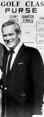 Sports Commentator Jack Whitaker, here in  December 9,1964, died at age 95.