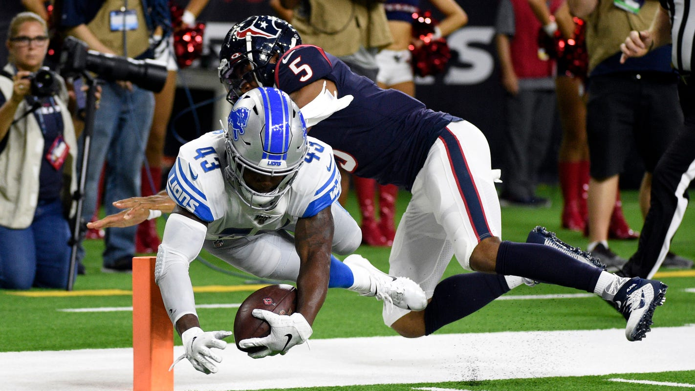 First-half observations: Lions offense still sputtering