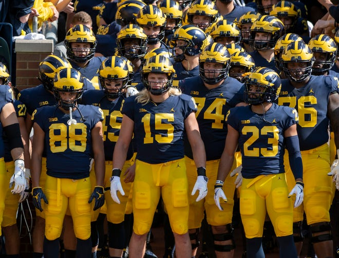 Michigan is ranked No. 7 in The Detroit News preseason composite poll.