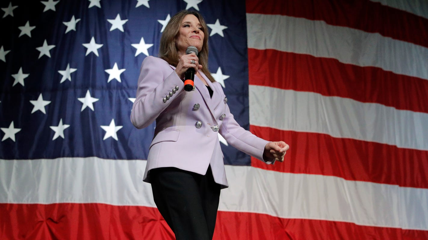 Marianne Williamson's presidential candidacy shines light on 'A Course in Miracles'