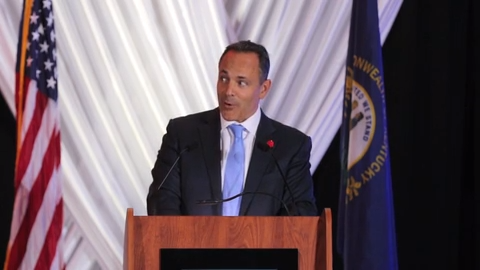 Matt Bevin's poem about Andy Beshear at Lincoln Dinner