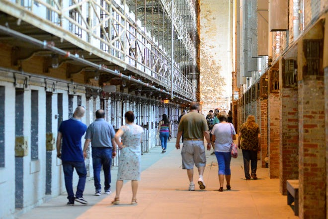"Thousands of fans of the movie, ""The Shawshank Redemption,"" flocked to The Ohio State Reformatory in August 2019 to celebrate the film's 25th anniversary."