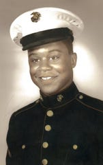 William Coffer Jr., at age 18 in the Marines.