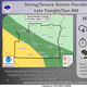 Strong thunderstorms expected across state Sunday morning, most severe in southwest Wisconsin