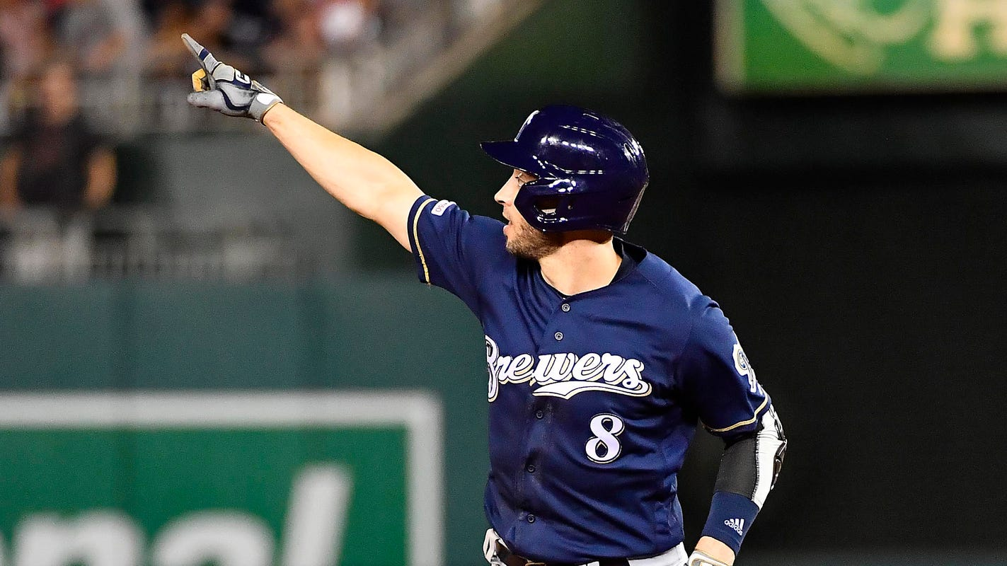 These are the nine craziest moments from the Brewers 15-14 win over the Nationals in 14 innings
