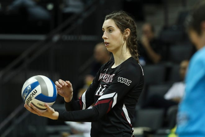 The New Mexico State volleyball team begins its 2019 regular season on Aug. 30.