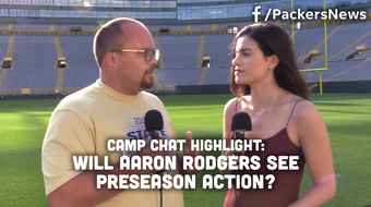 Ryan Wood and Olivia Reiner discuss Aaron Rodgers' back tightness and the likelihood that he will play during the last two preseason games.