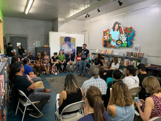 More than 40 organizations attended Palabras Bilingual Bookstore's 4th anniversary celebration Saturday.